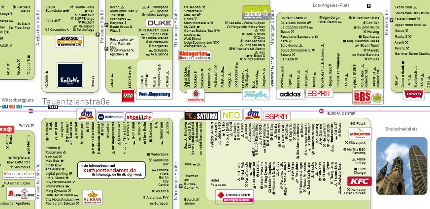 Shopping Guide Tauentzienstrasse